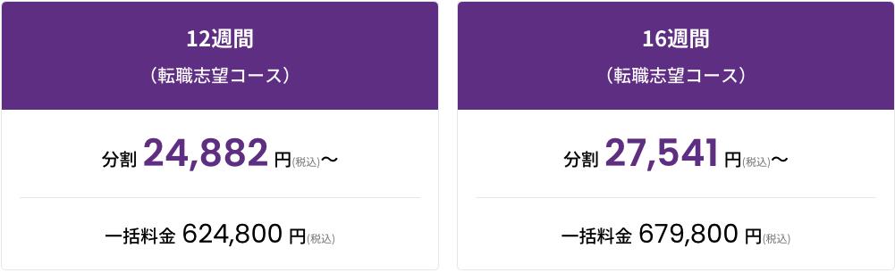 DMM WEBCAMP PROの料金