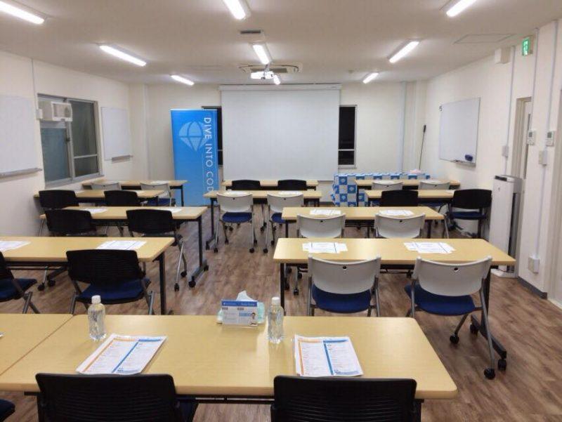DIVE INTO CODEの教室